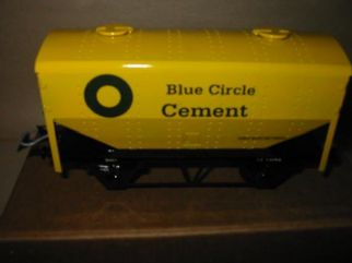 Blue Circle Covered Hopper